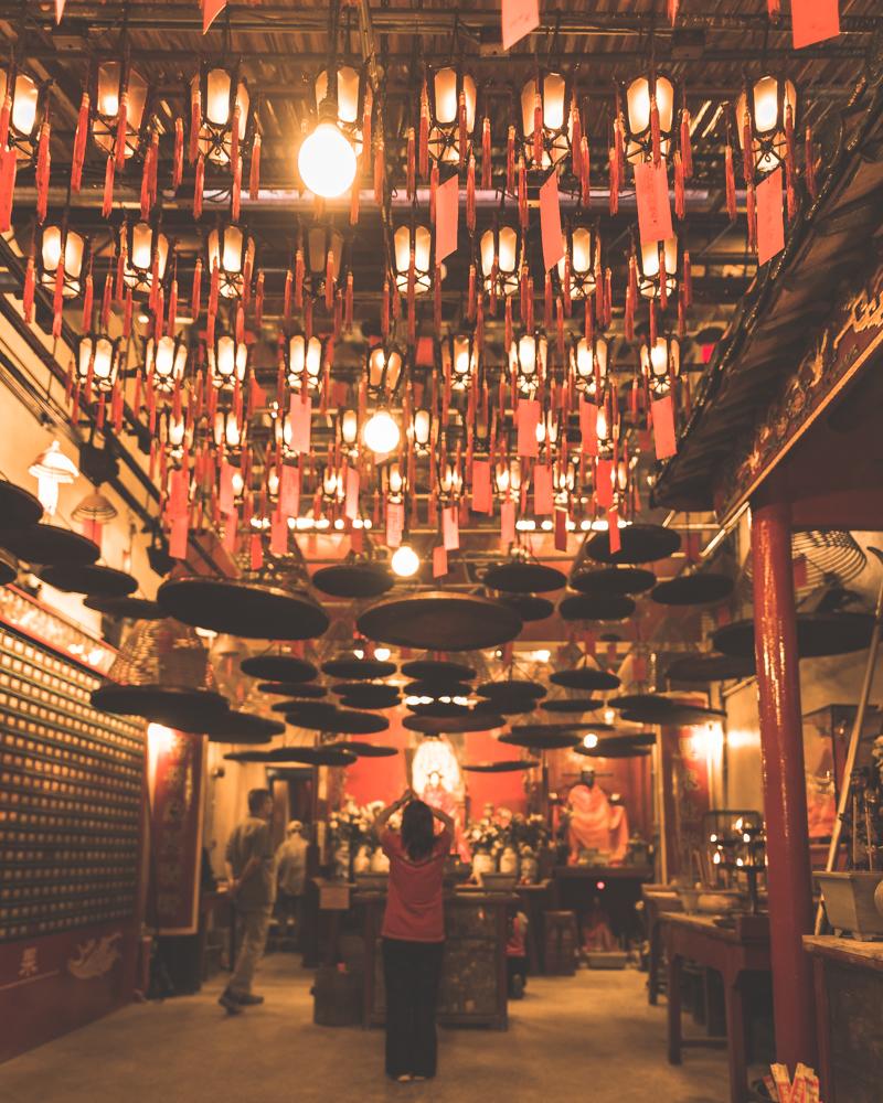 Hong Kong Itinerary - Man Mo Temple