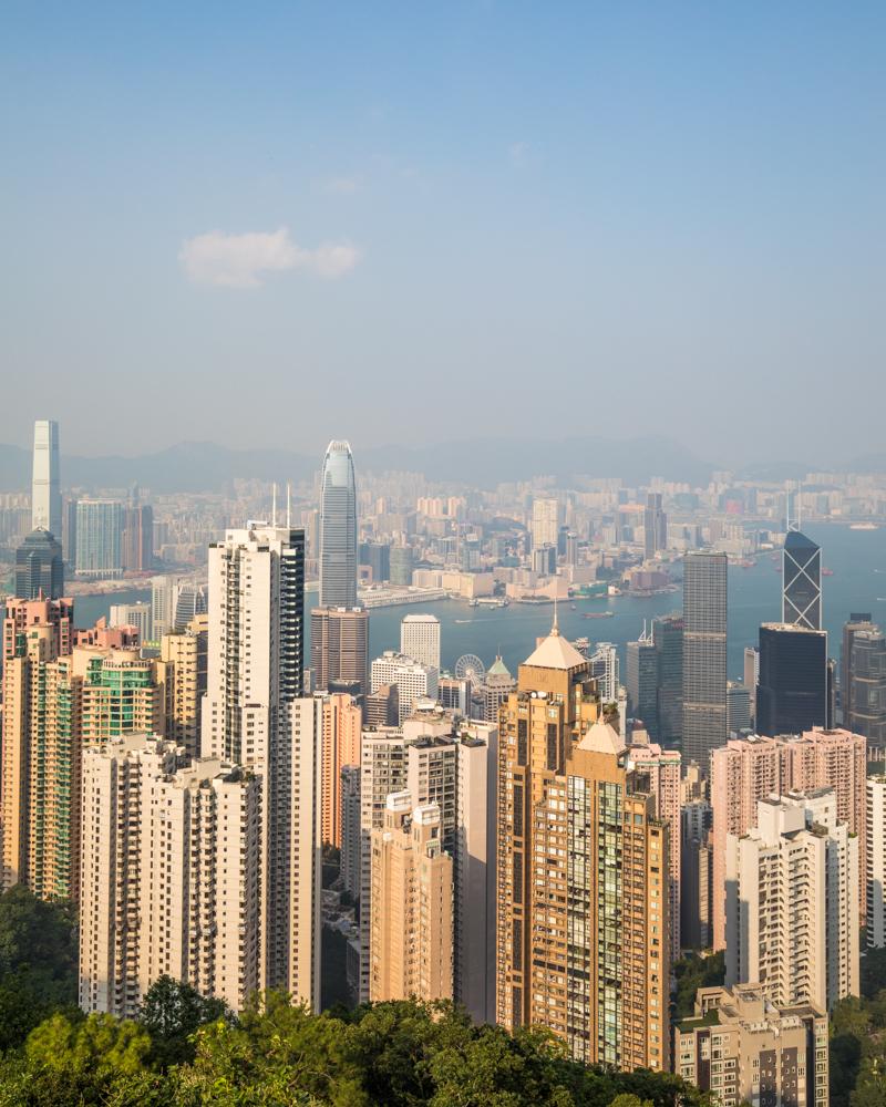 Hong Kong Itinerary - Victoria Peak