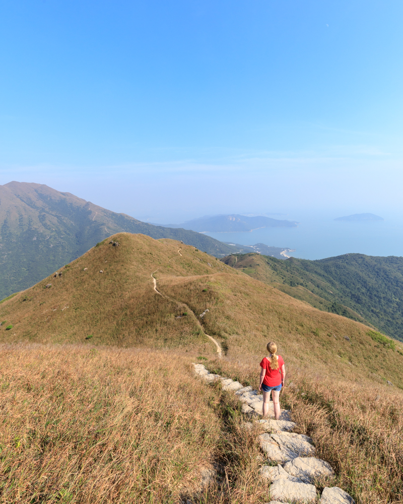 Hong Kong Itinerary - Lantau Peak
