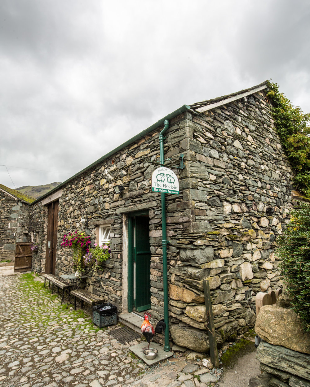 Traditional buildings in Borrowdale