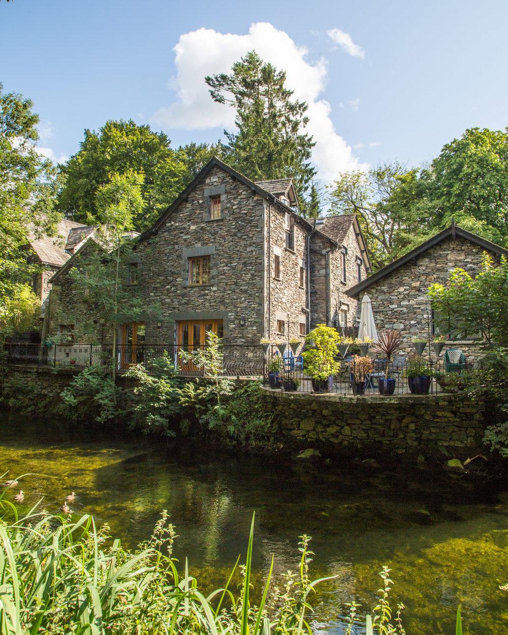 Grasmere Village, Lake District England