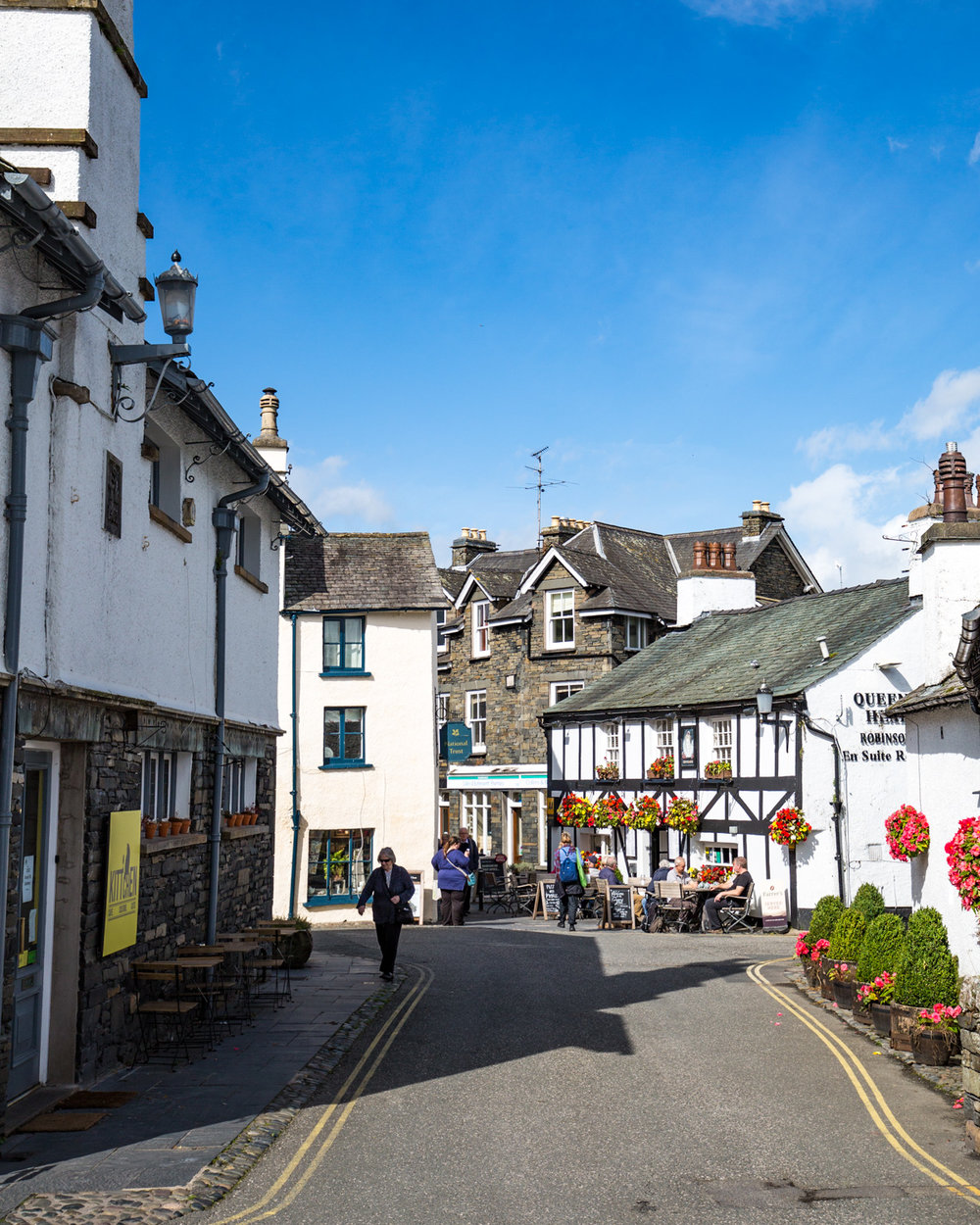 Places to visit in the Lake District - Hawkshead