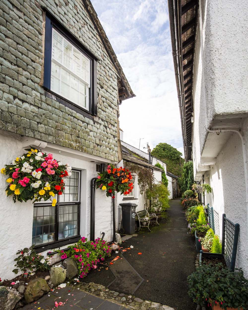 Hawkshead village, Lake District