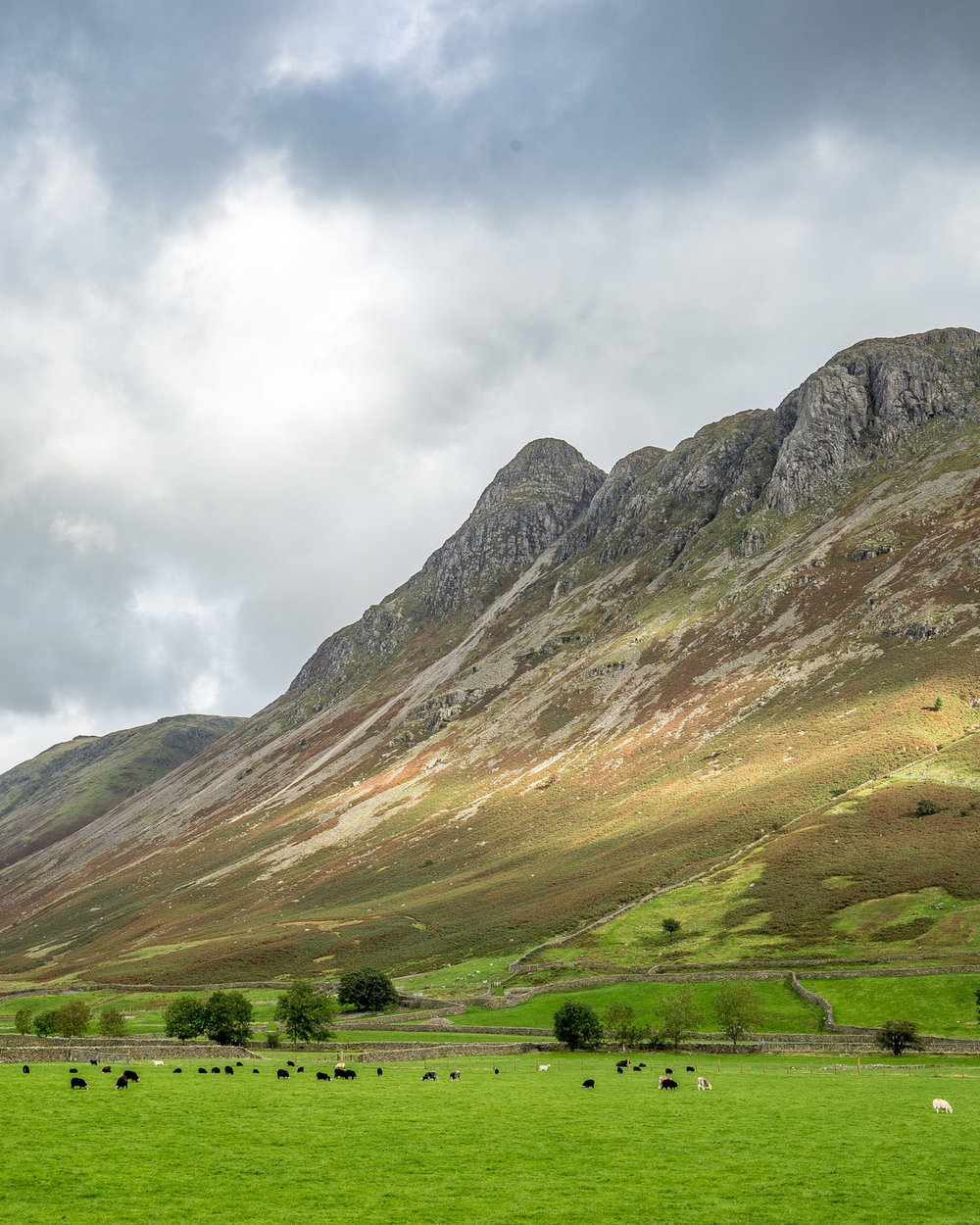 Places to visit in the Lake District - Langdale Valley