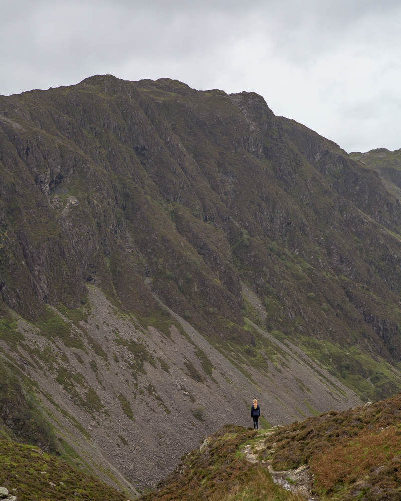 The walk at Haystacks