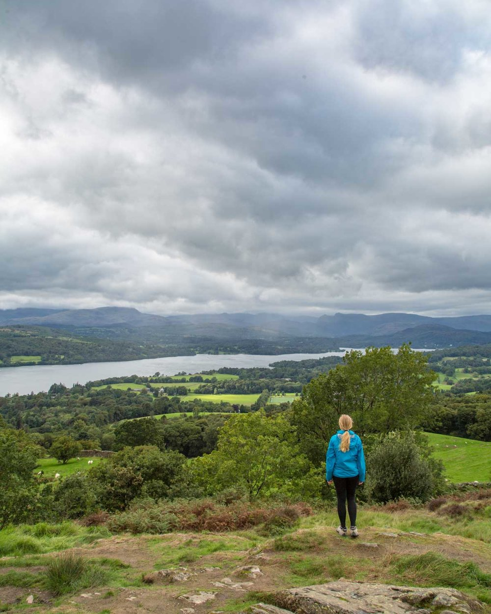 Best things to do in the Lake District - Views from Orrest Head