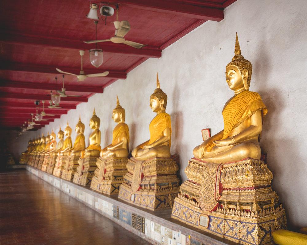 Wat Mahadhat Buddhas