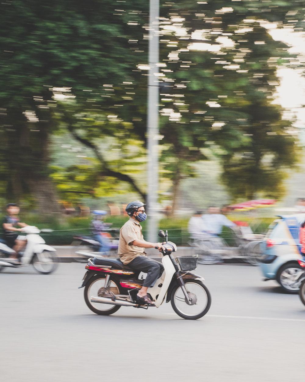 Hanoi Scams - Motorbikes