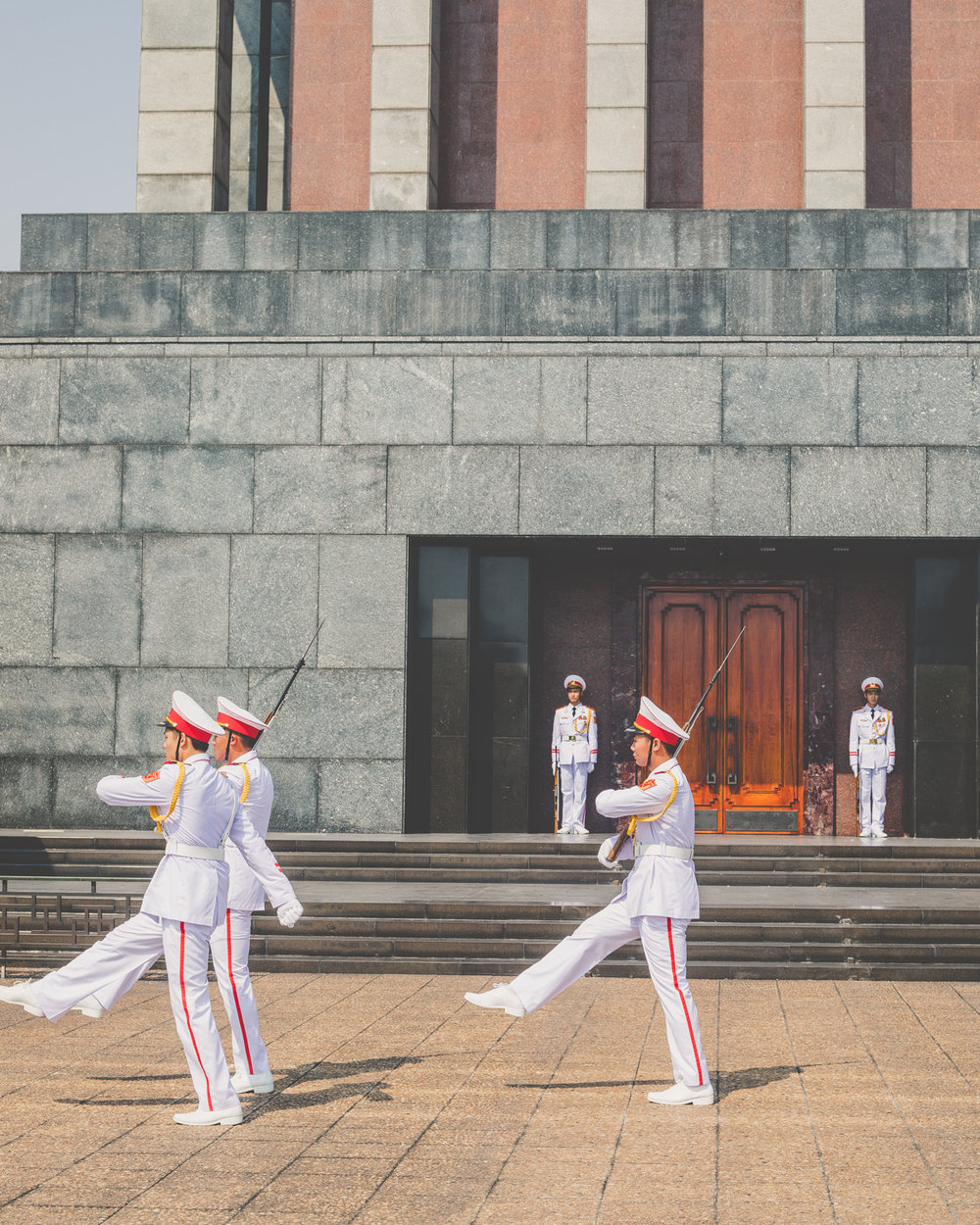 Attractions in Hanoi - Ho Chi Minh Mausoleum
