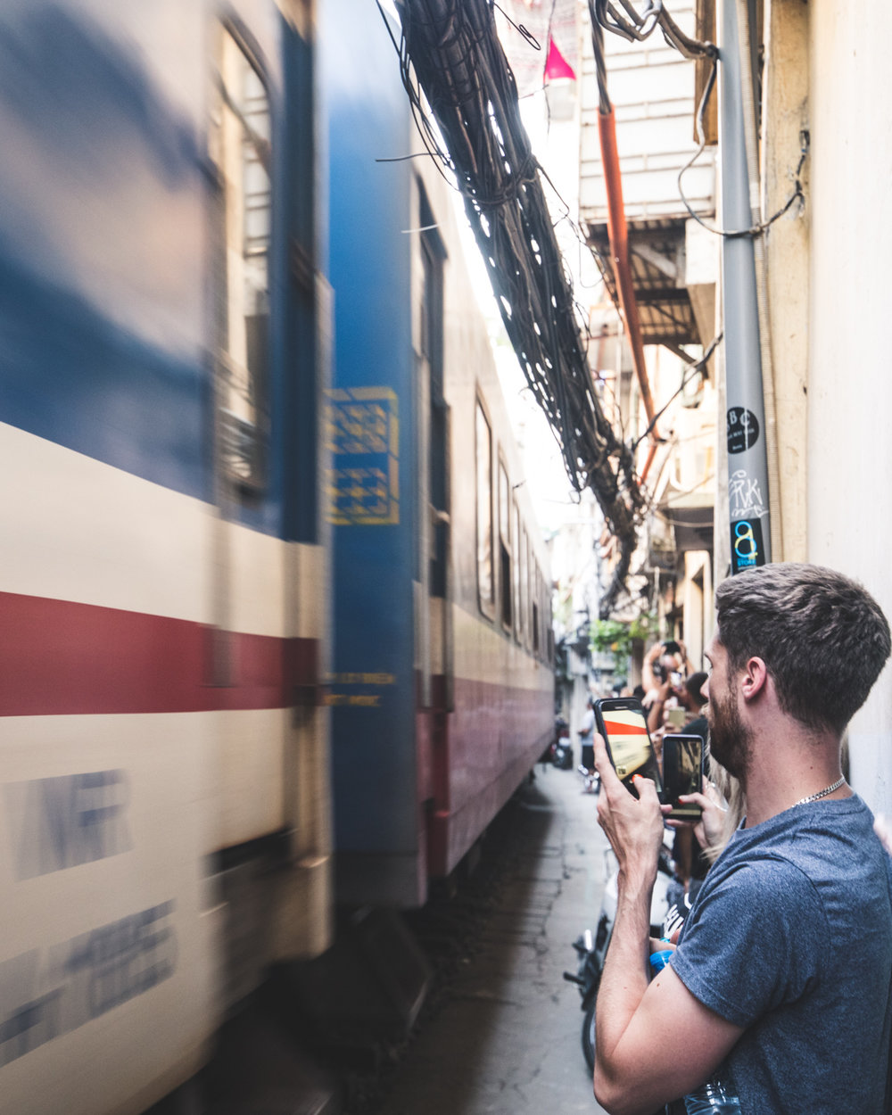 Attractions in Hanoi - Railway Street