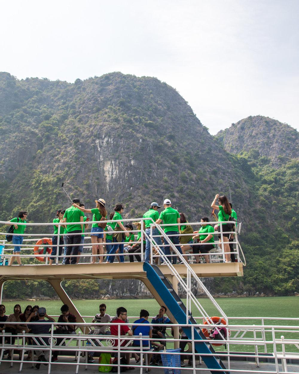 Public ferry to Cat Ba Island