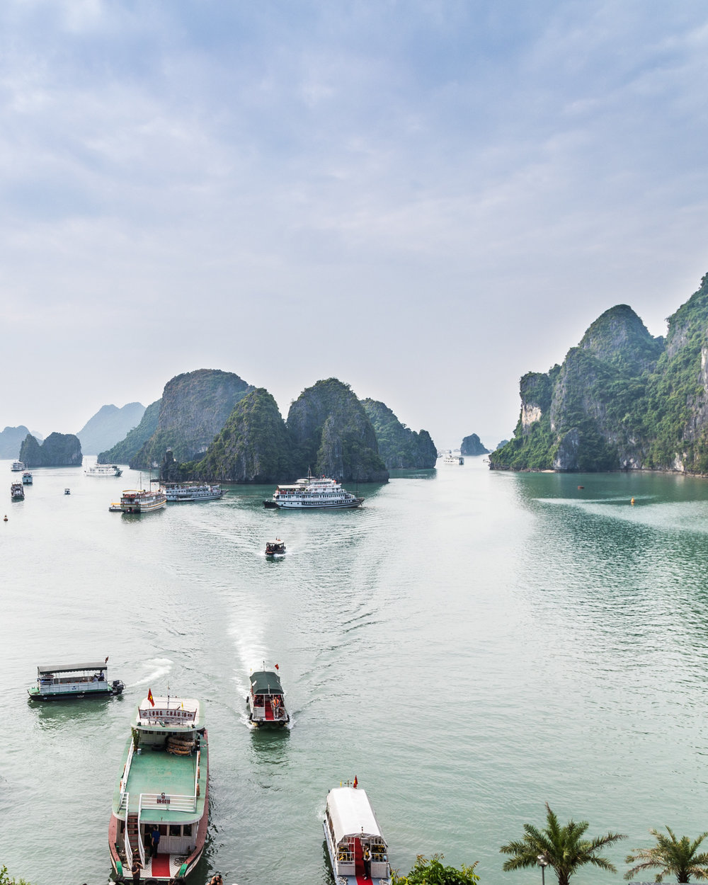 Overnight Halong Bay Cruise - The trip