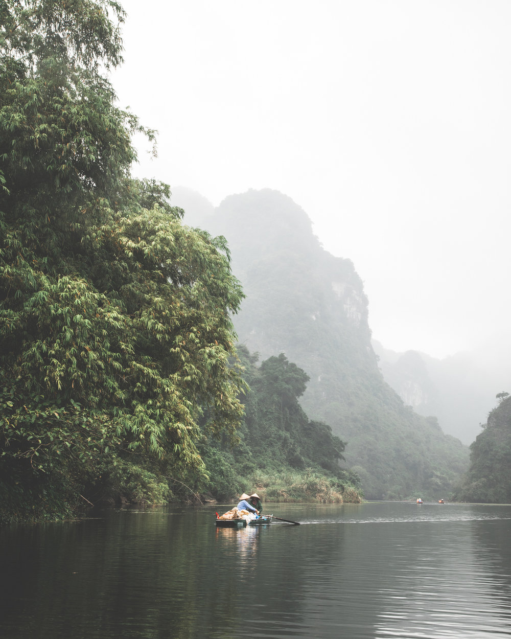Peace and tranquility at Trang An - Ninh Binh