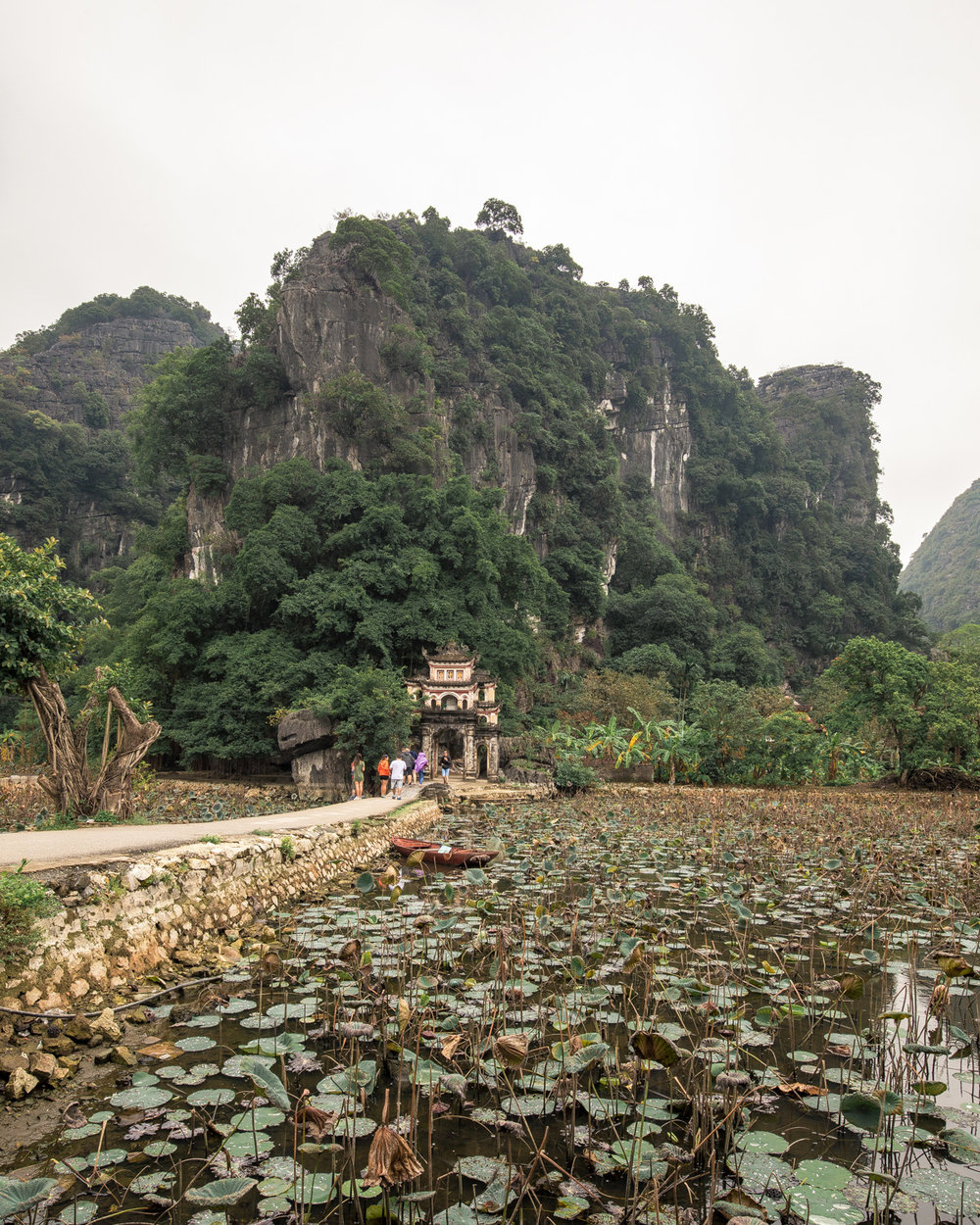 Tam Coc Bich Dong Pagoda Vietnam