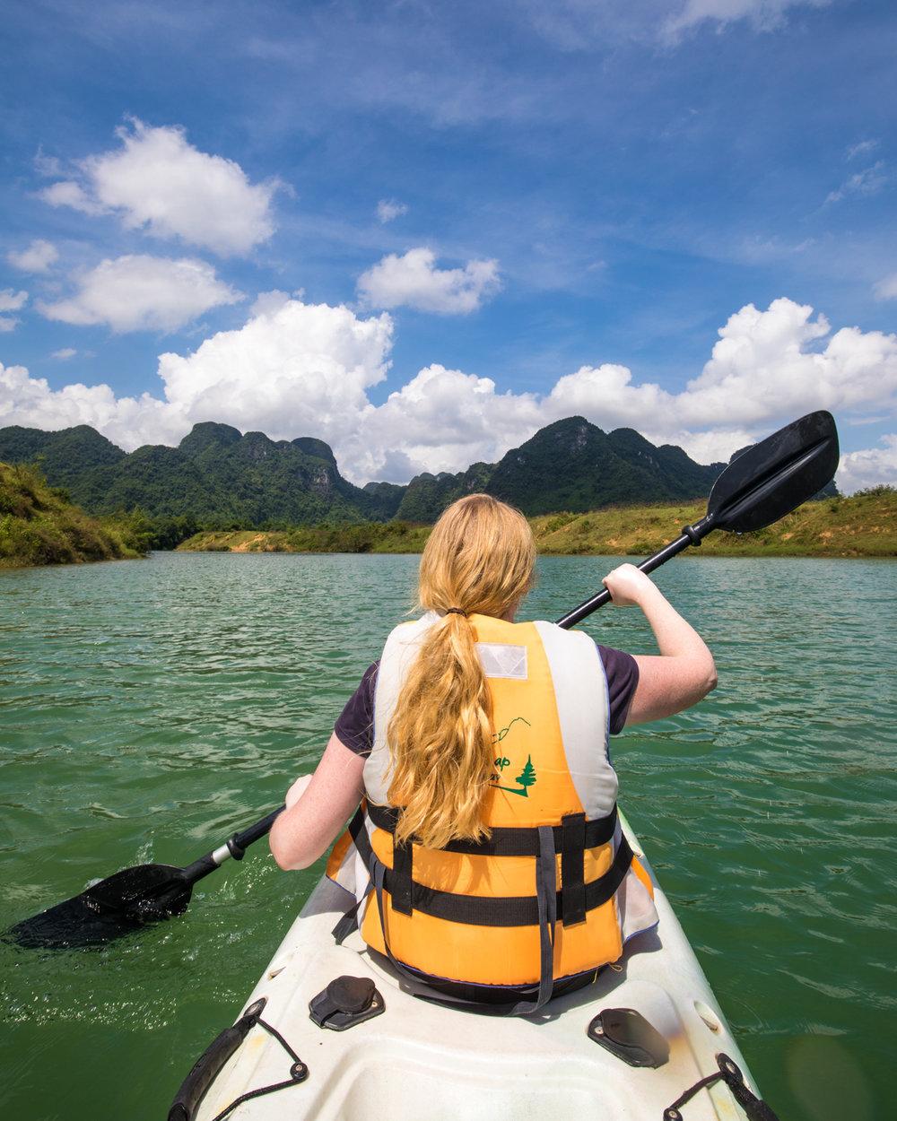 Things to do in Phong Nha - Kayaking