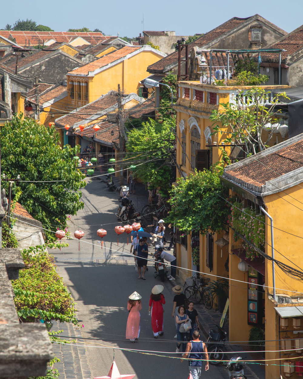 The Old Town in Hoi An