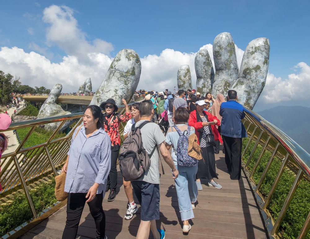 Best time to visit Golden Bridge - Ba Na Hills