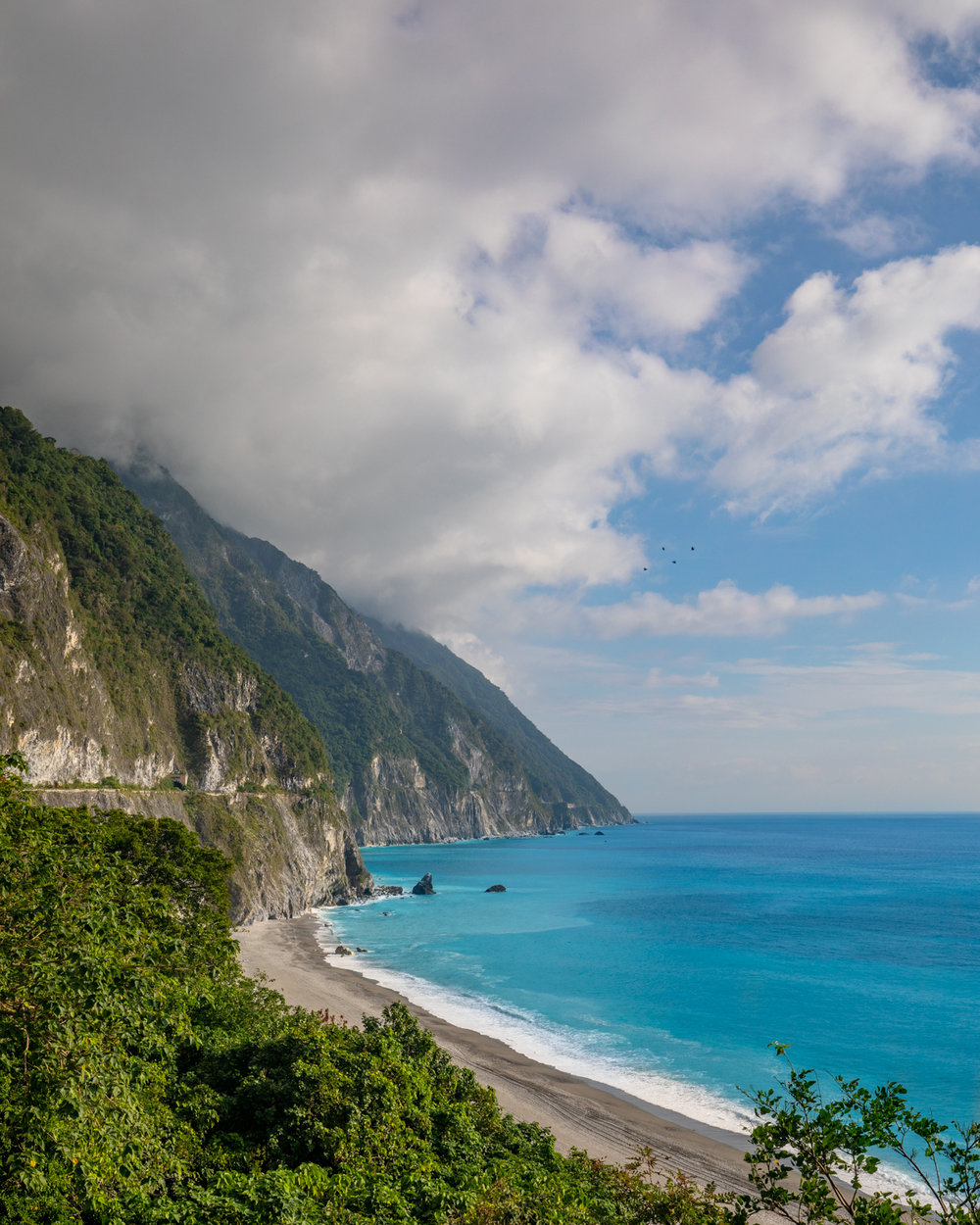 The stunning views of Qingshui Cliffs - Taroko Gorge National Park