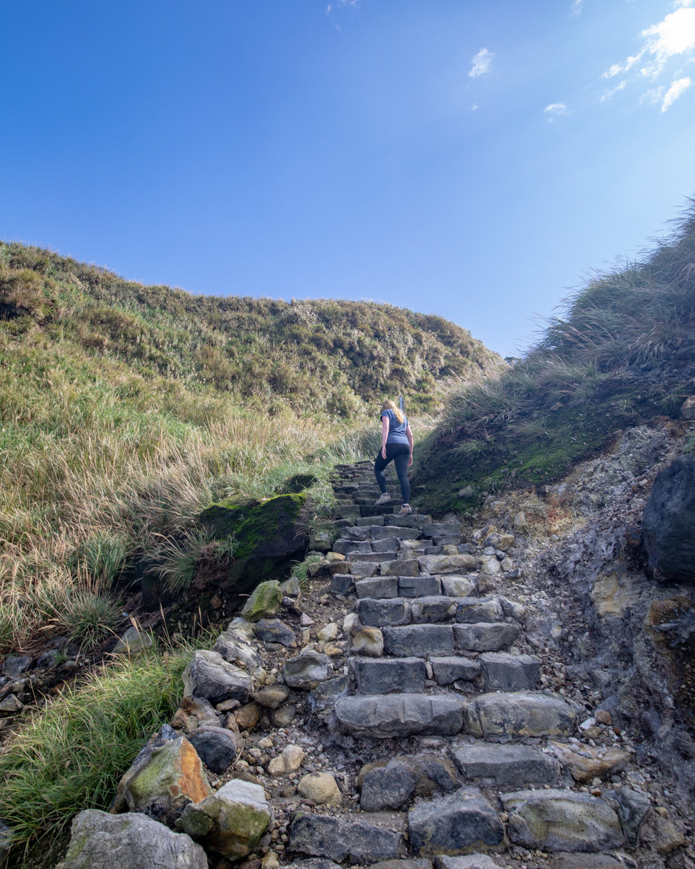 Yangmingshan National Park: Mount Qixing walk