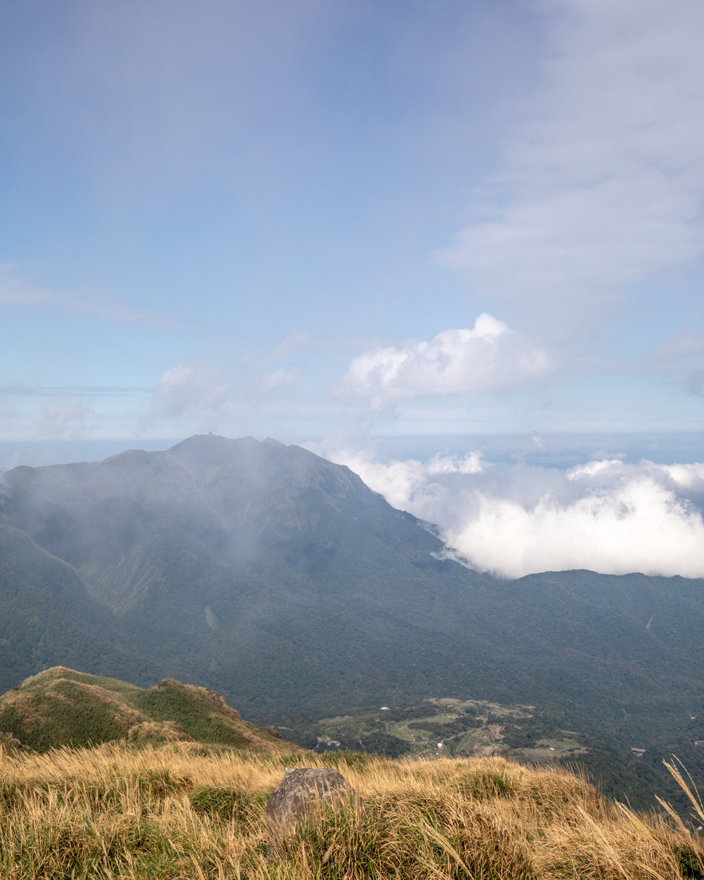 The views from Yangmingshan