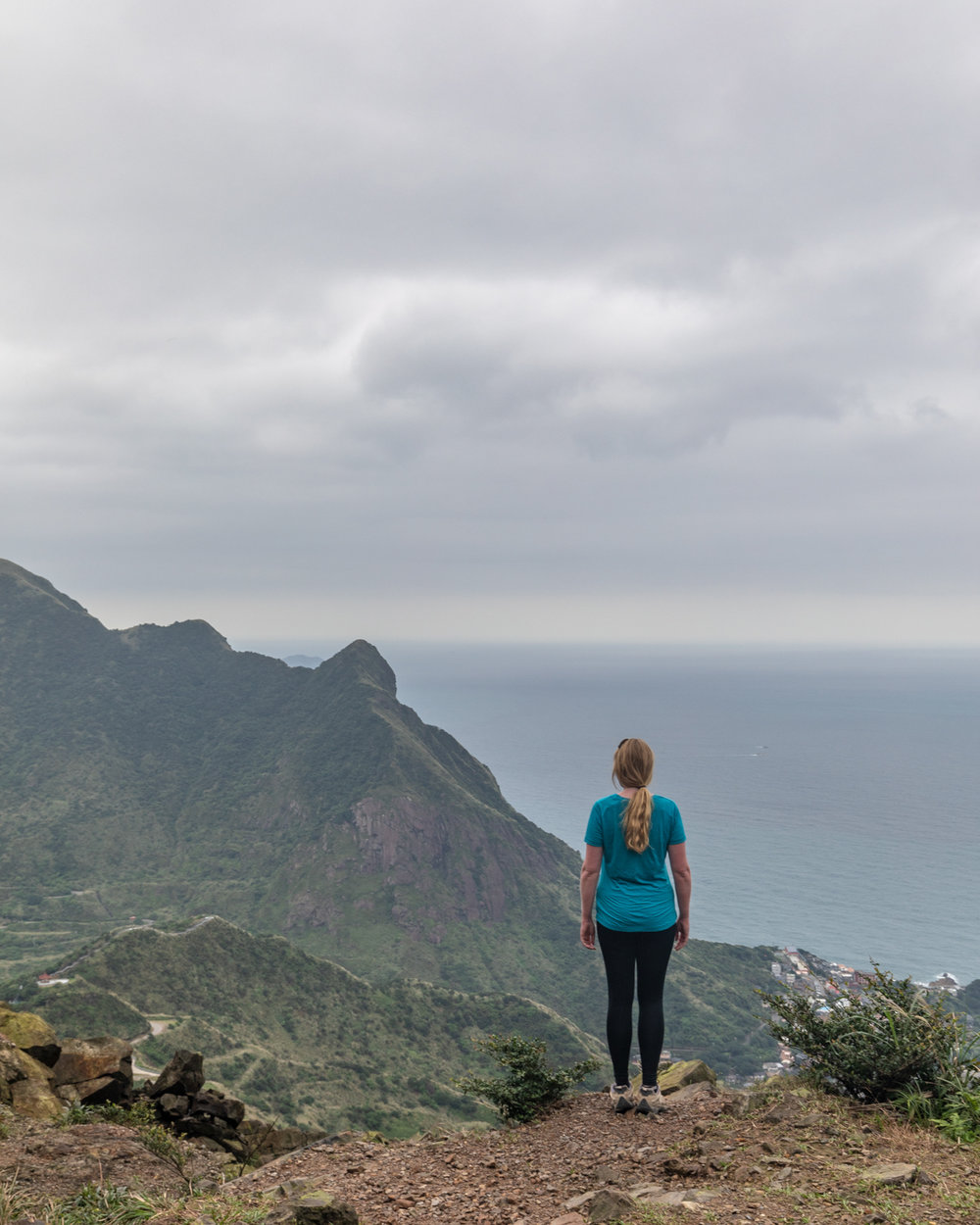The views from Teapot Mountain, Taiwan