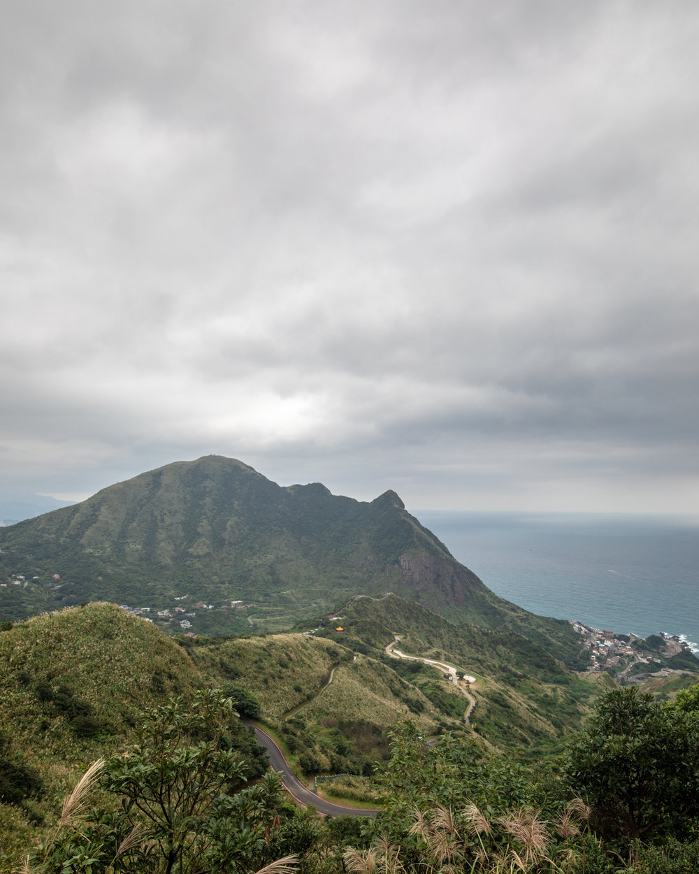 The views out to sea in Jiufen