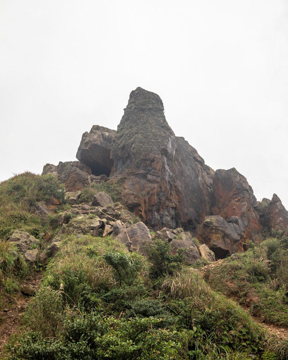 The top of Teapot Mountain