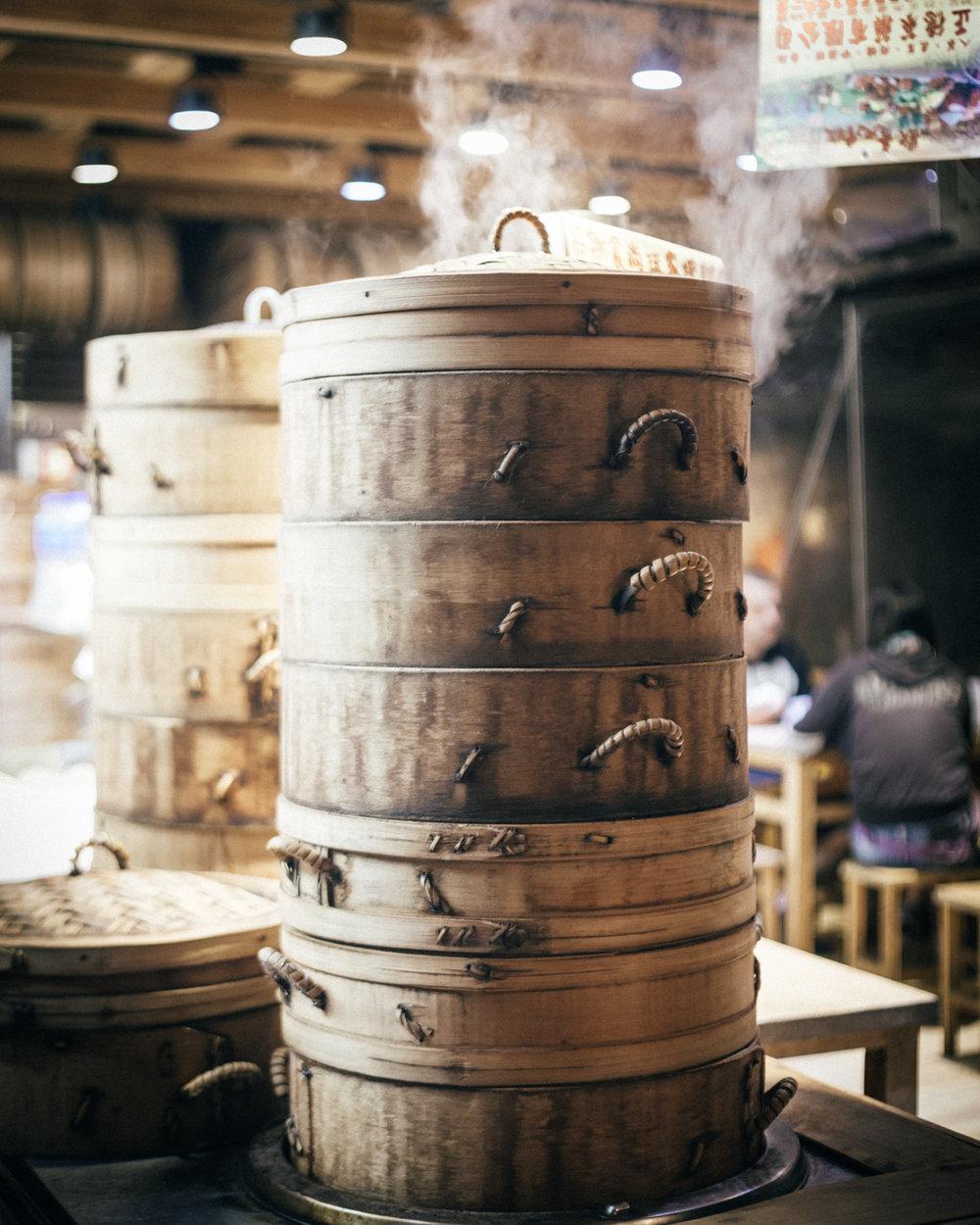 The street food of Jiufen Old Street