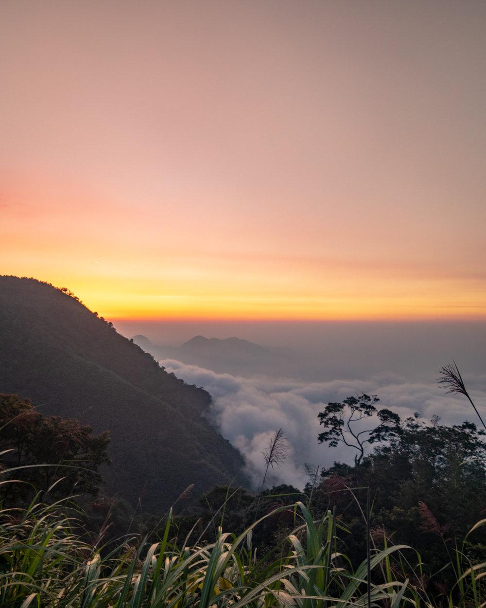 Sunset on the Fenrui Trail