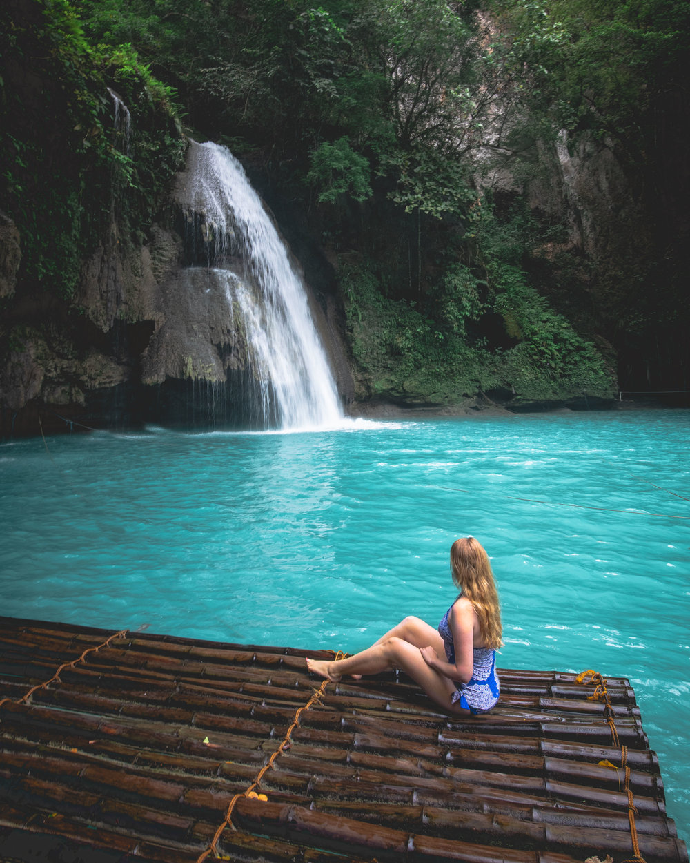 Kawasan Falls in Cebu, The Philippines