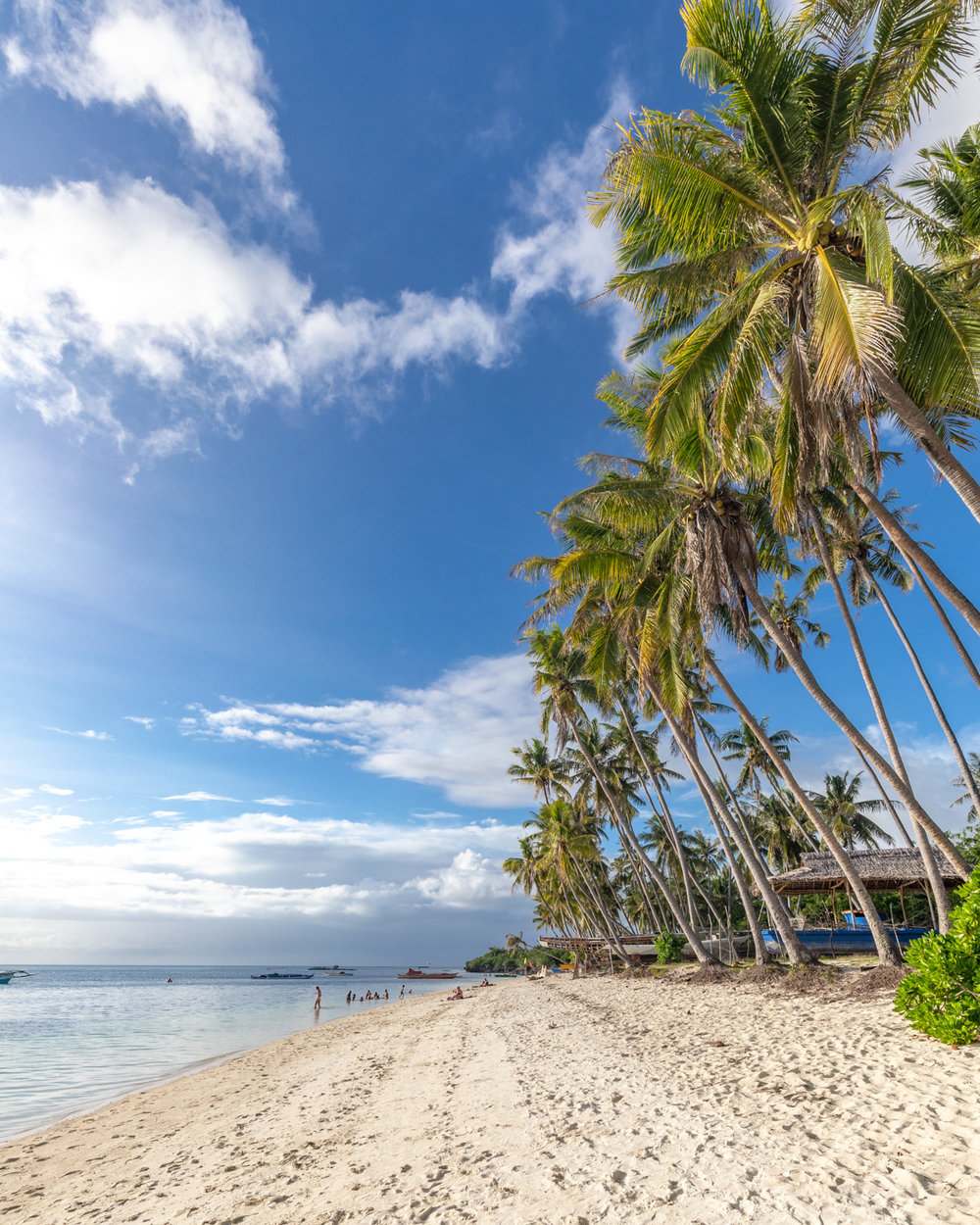 Paliton Beach on Siquijor Island, The Philippines
