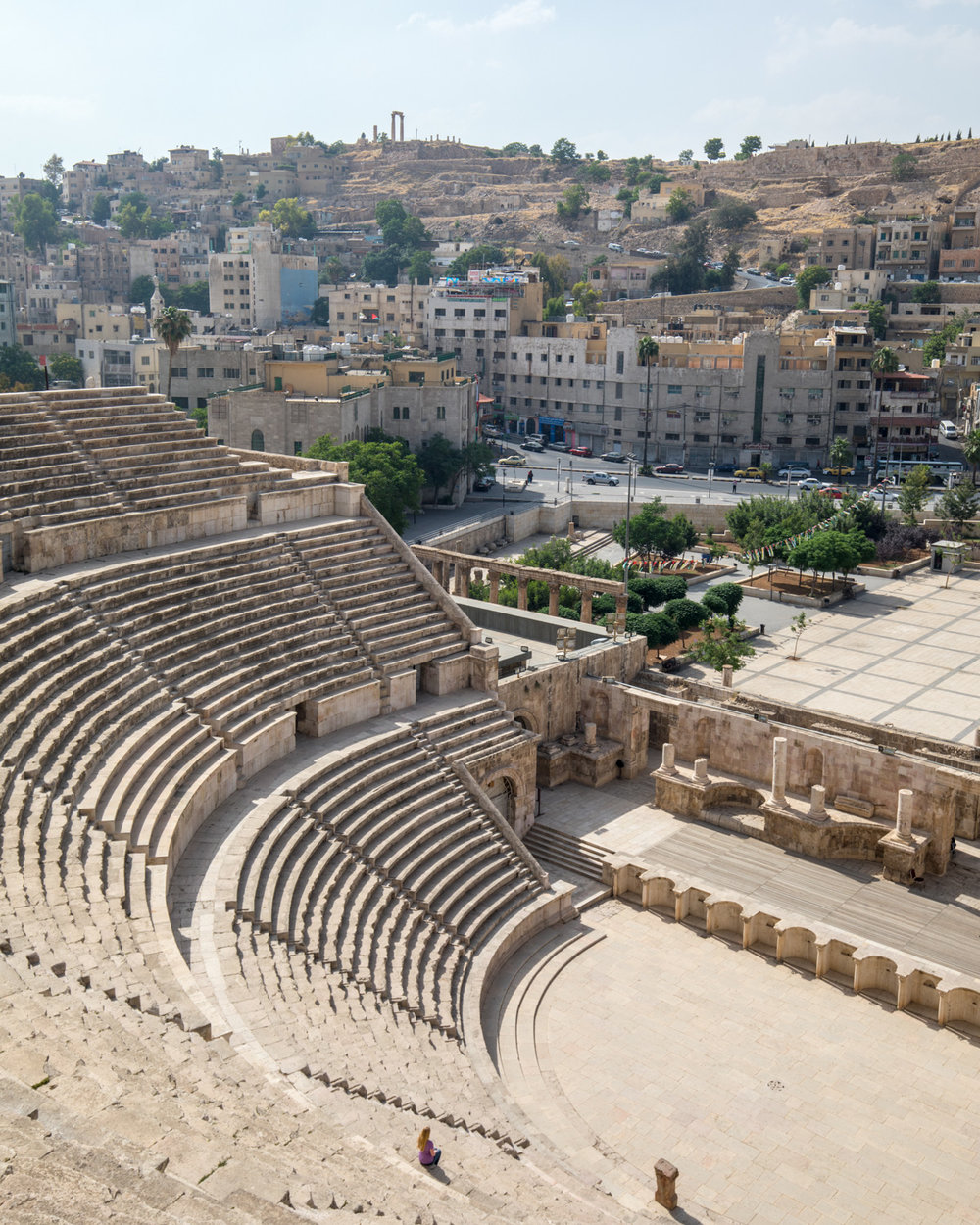 Backpacking Jordan - The Roman Amphitheatre