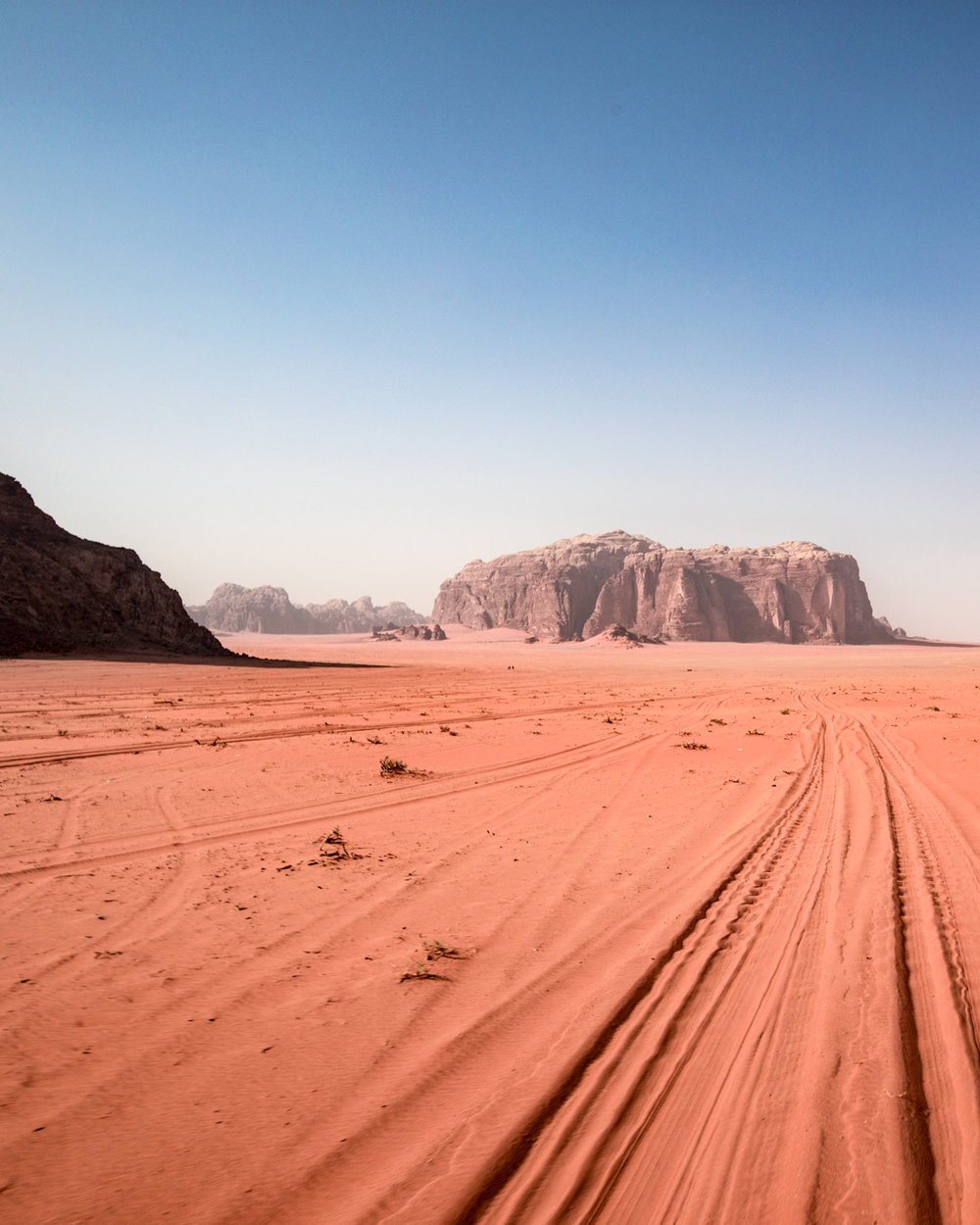 Backpacking Wadi Rum, Jordan