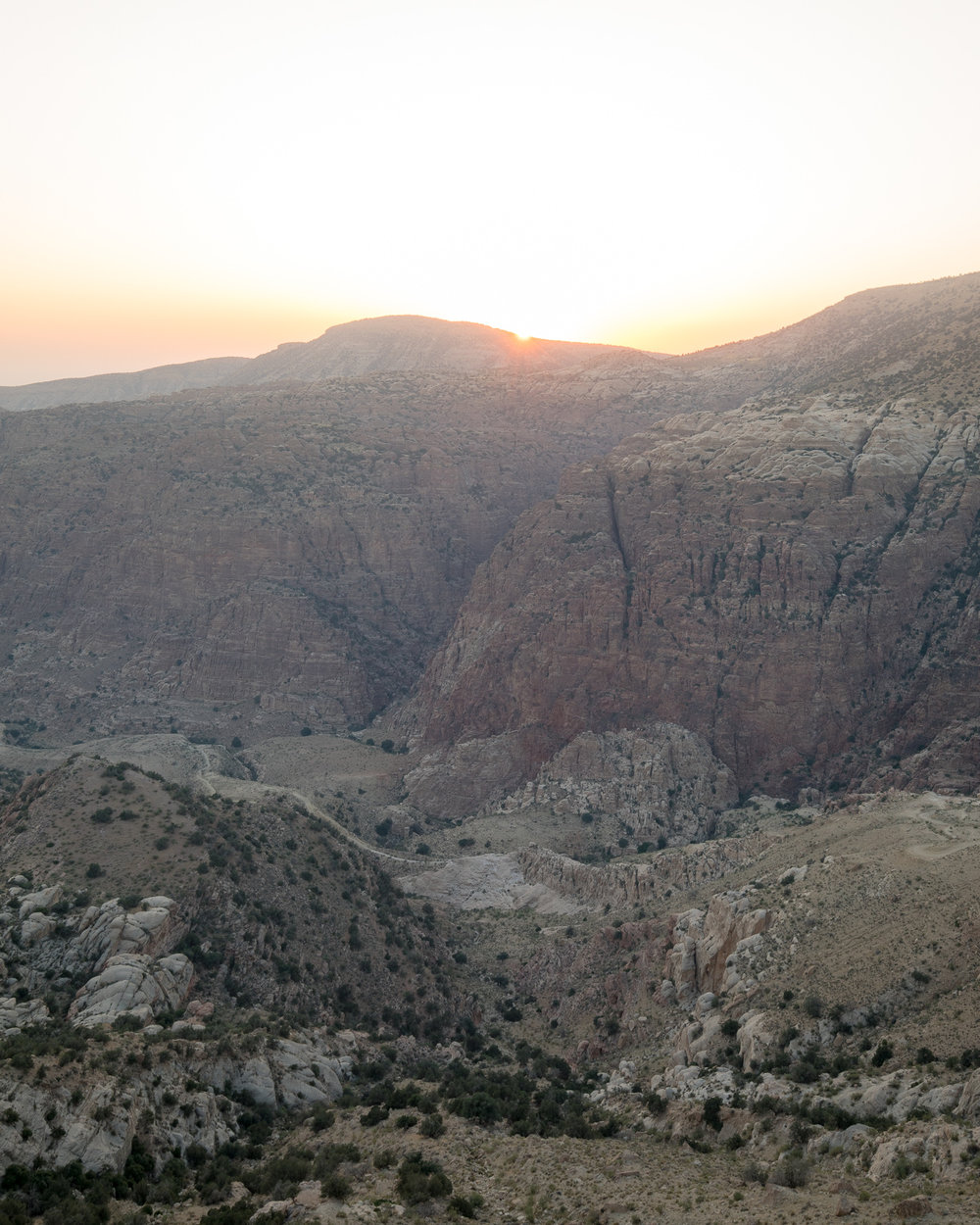 Backpacking Dana - the Canyon