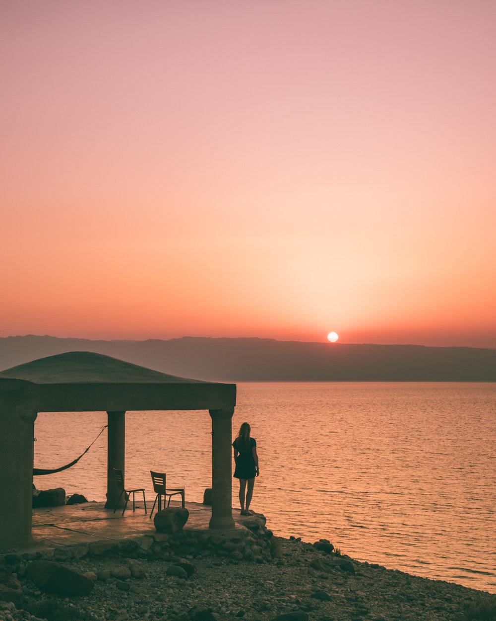 Backpacking Jordan - Wadi Mujib