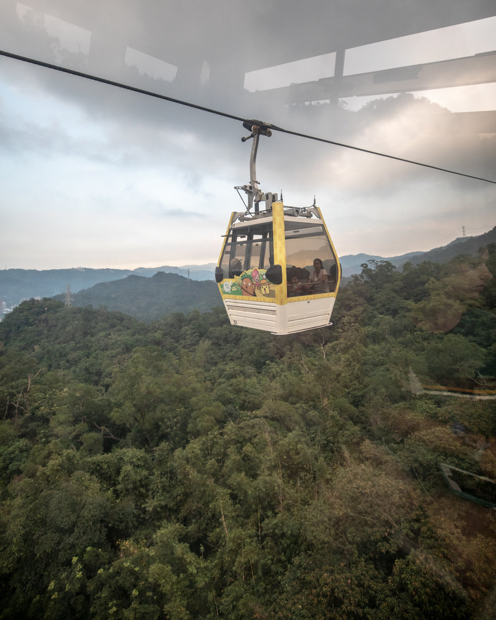 Best things to do in Taipei: The Gondola to Maekong