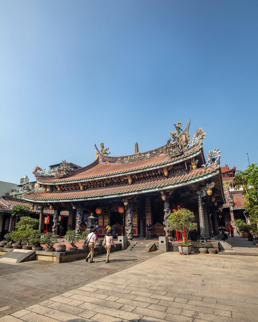 Things to do in Taipei - Bao'an Temple