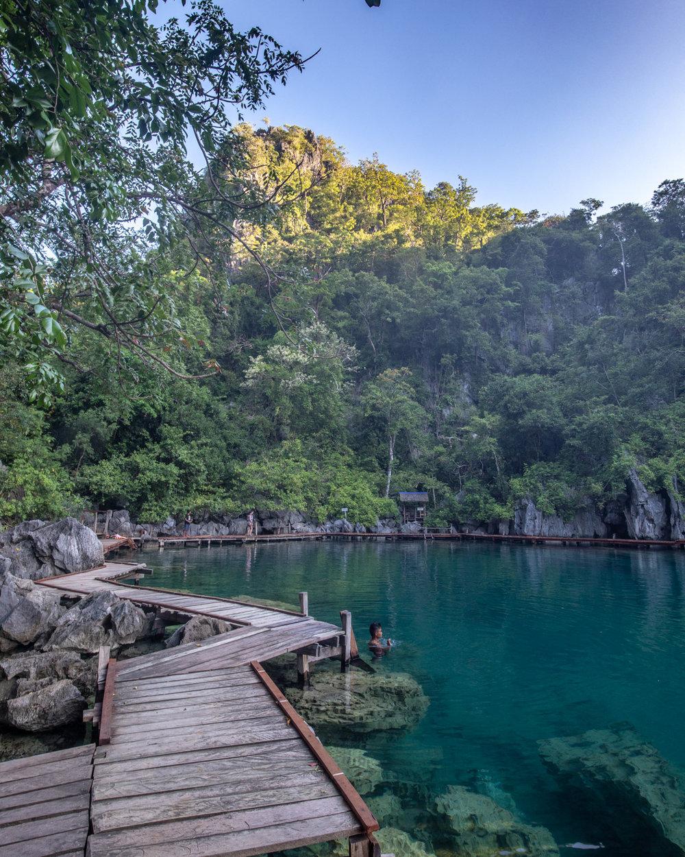 Island Hopping in Coron, Palawan. The epic lakes on Coron Island