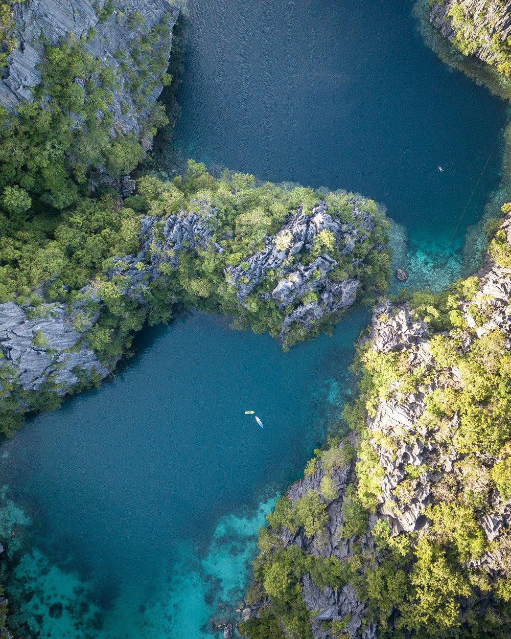 Twin Lagoons - Coron Island Hopping