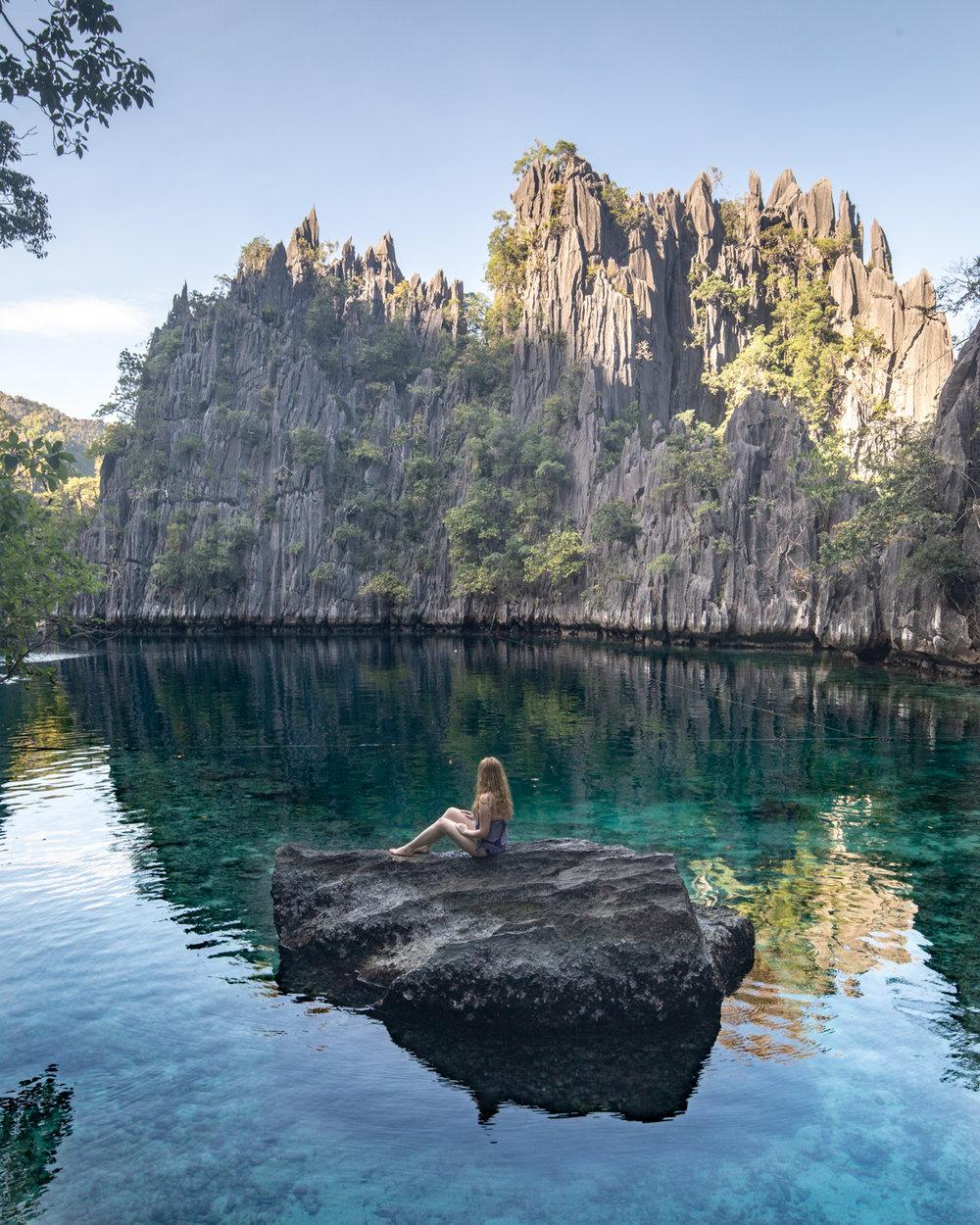 Twin Lagoons in Coron, Palawan
