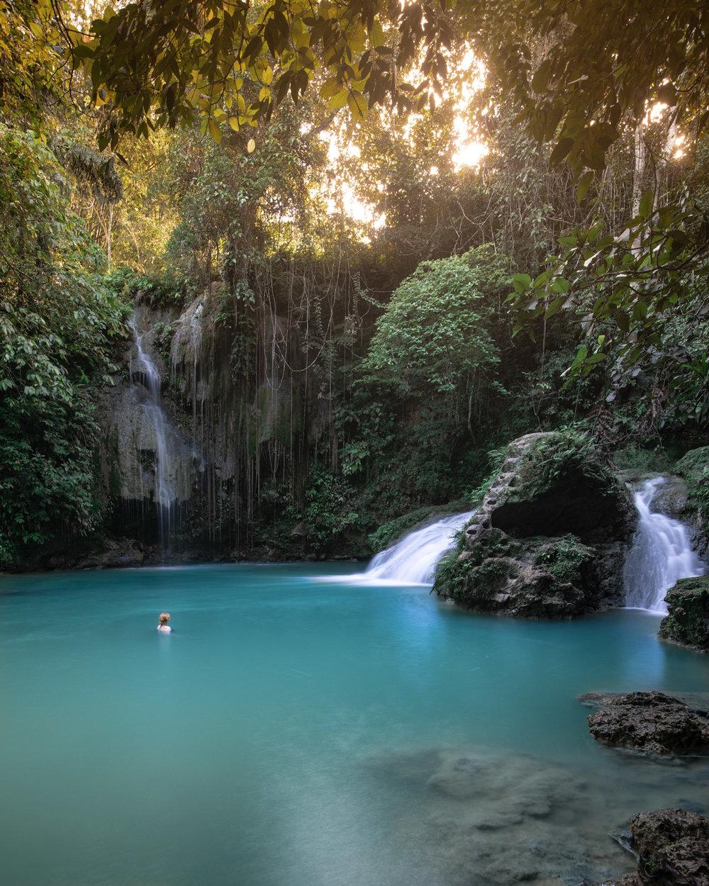 Best waterfalls in Cebu: Cambais Falls