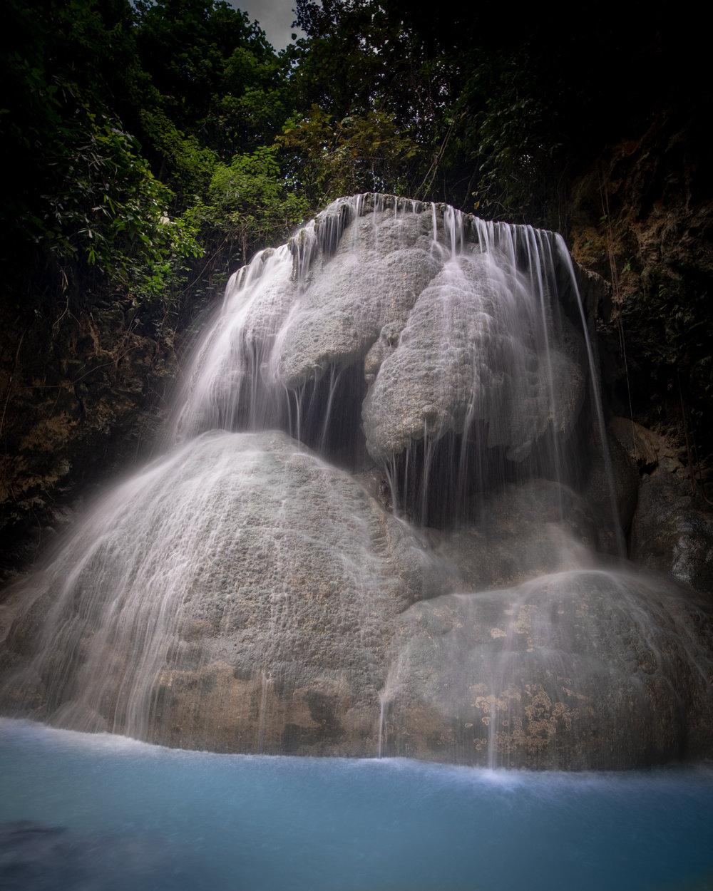 The top of Aguinid Falls, Cebu
