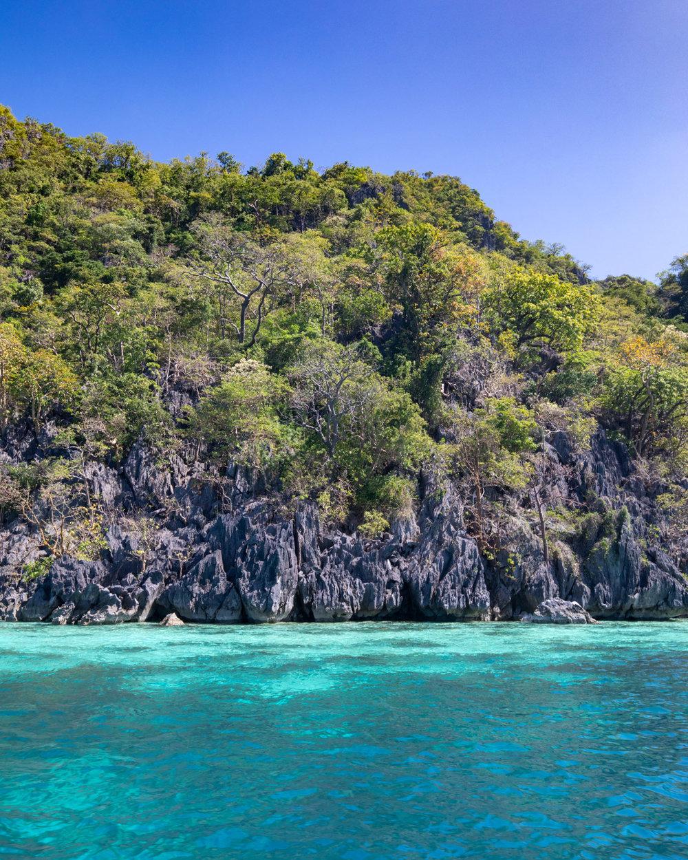 The beautiful island of Coron Palawan