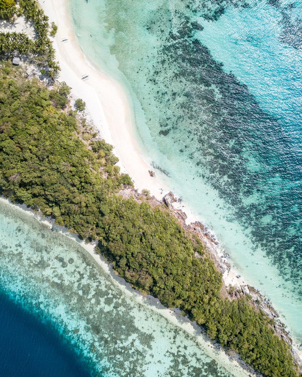 Malcapuya Island in Coron, Palawan