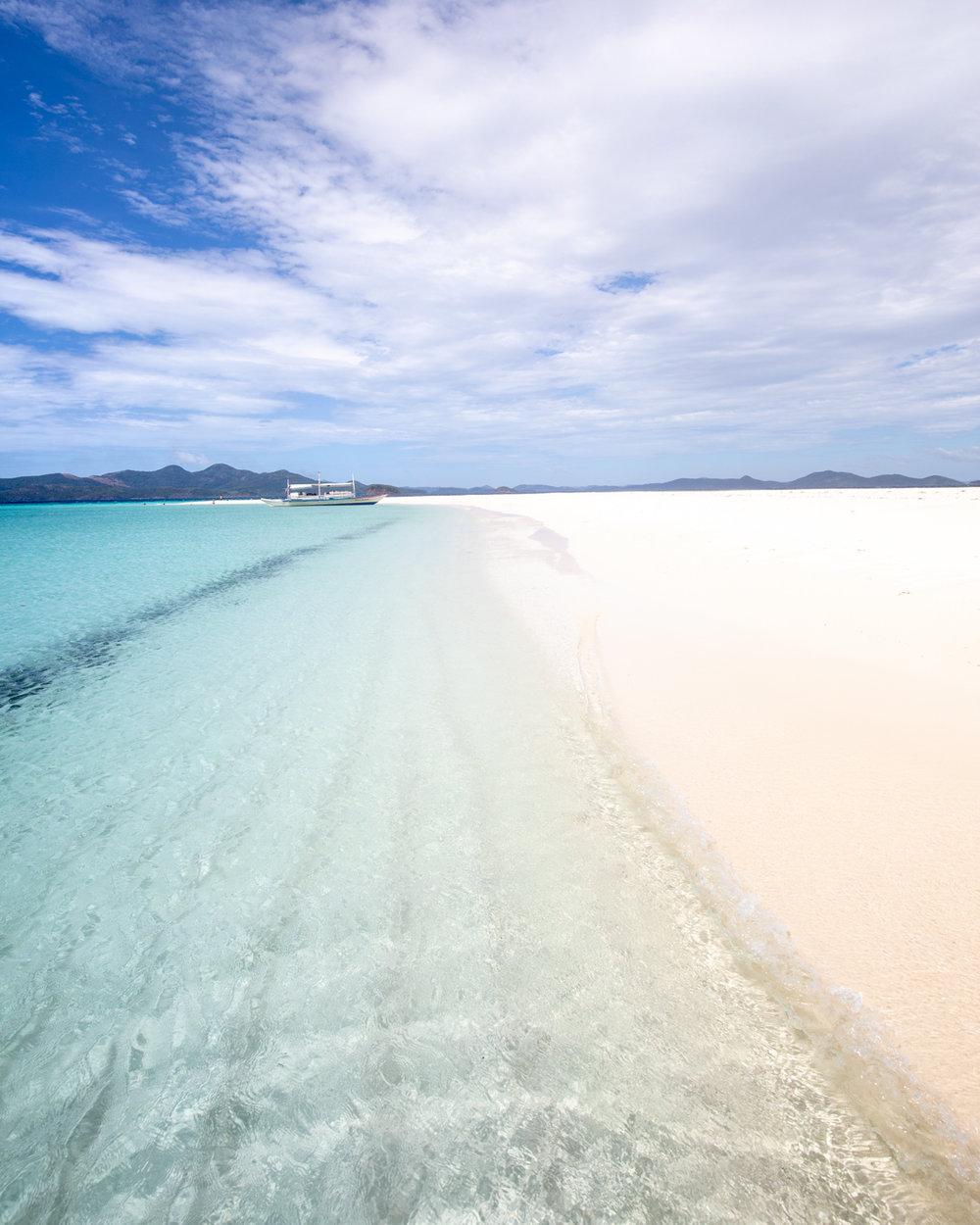Beautiful islands around Coron, Palawan
