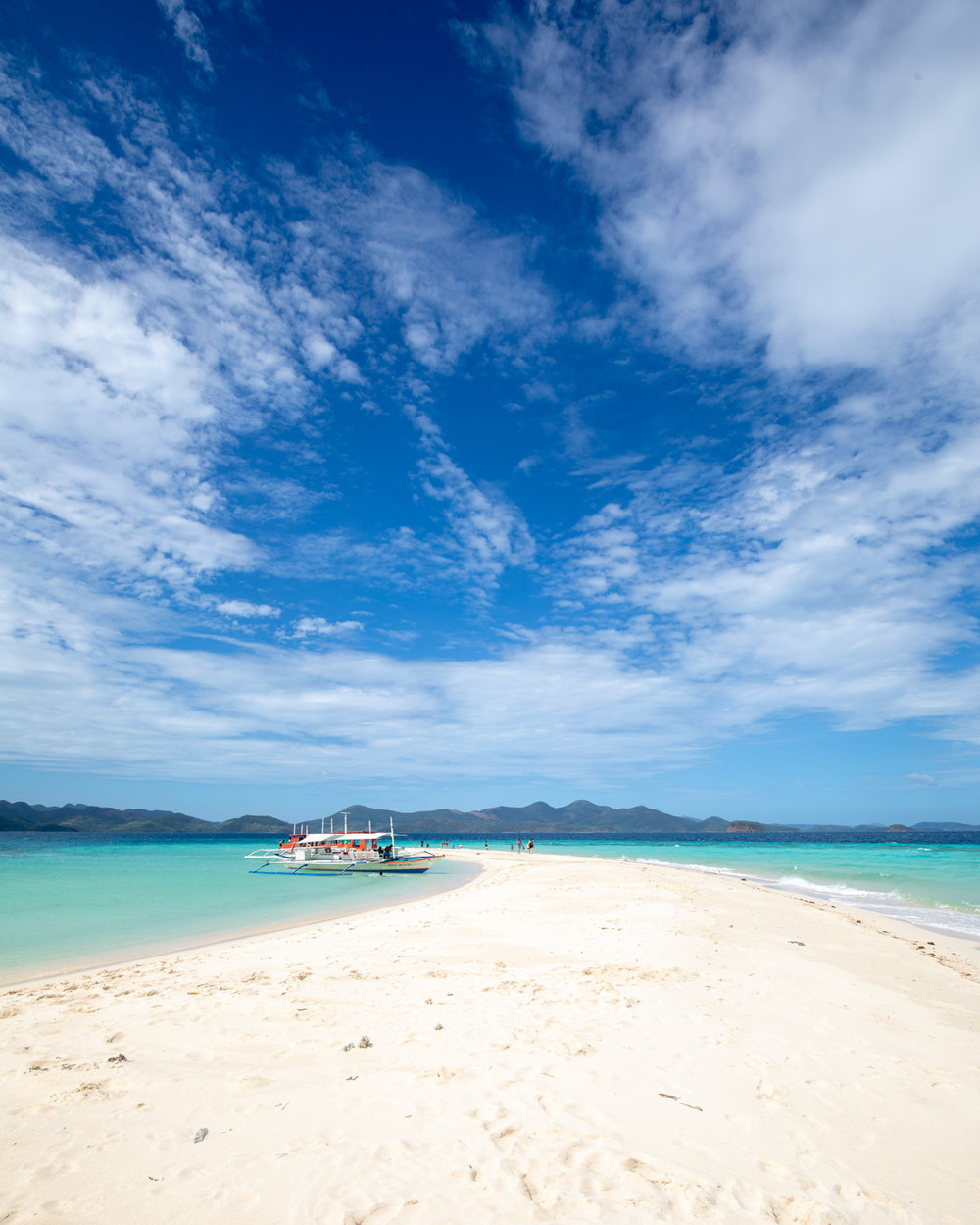 Ditatayan Island Sandbar in Coron, Palawan