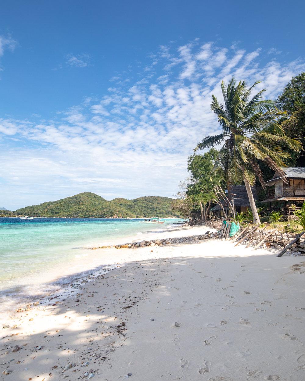 Banana Island, Coron Island Hopping in Palawan