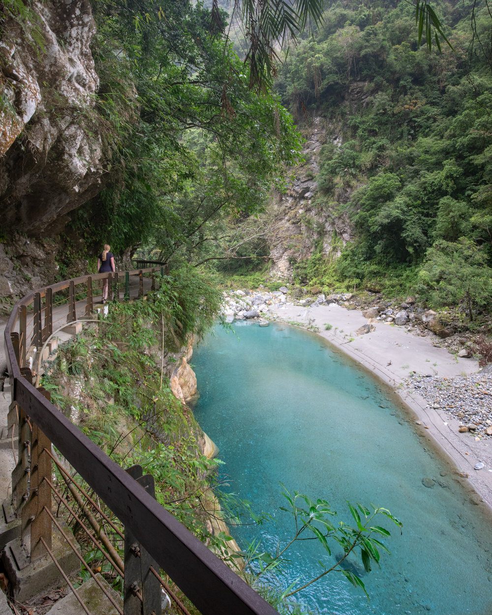 Taiwan Itinerary 7 days - Shakadang Trail in Taroko Gorge