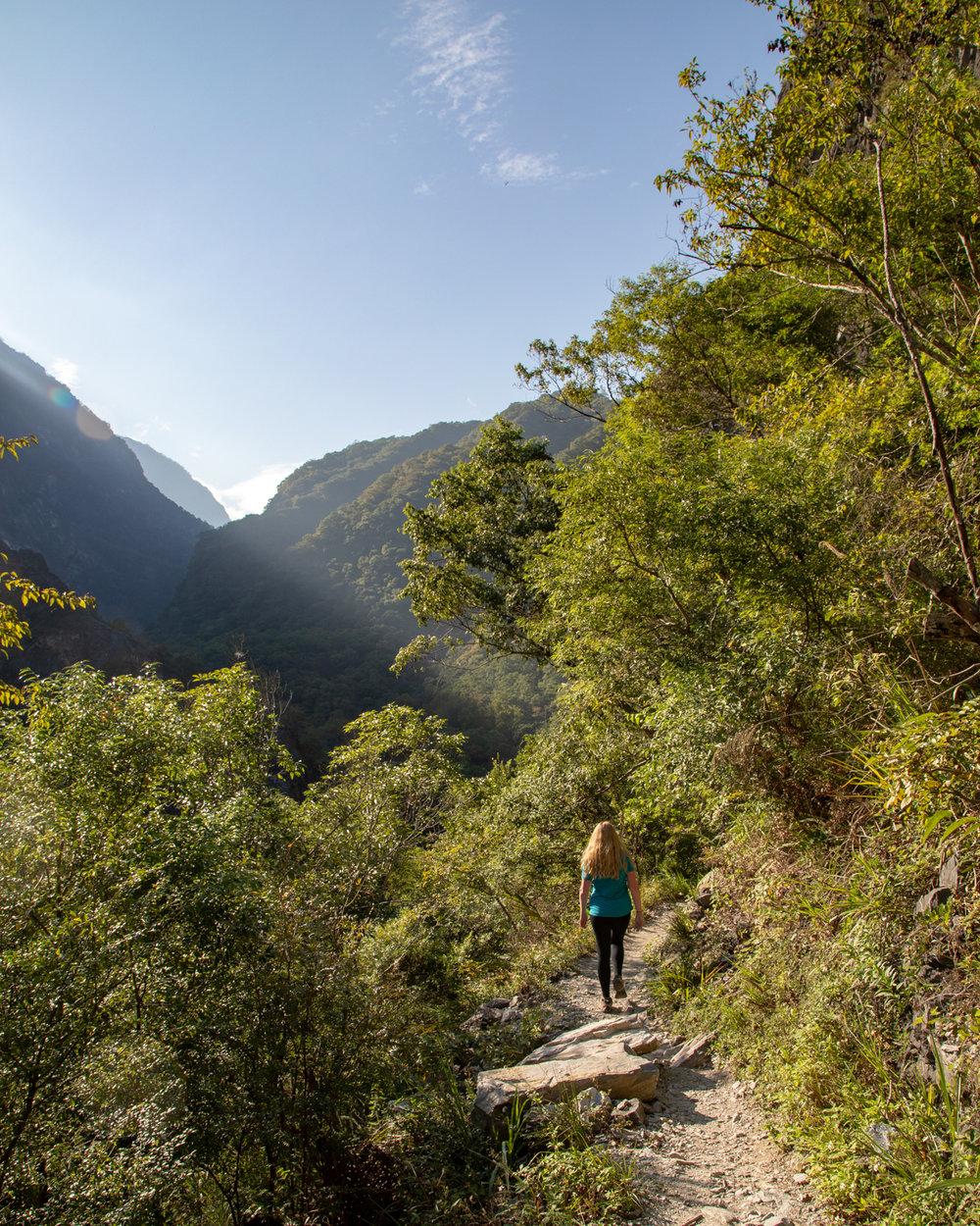 Lushui Trail in Taroko Gorge - 7 day Taiwan Itinerary