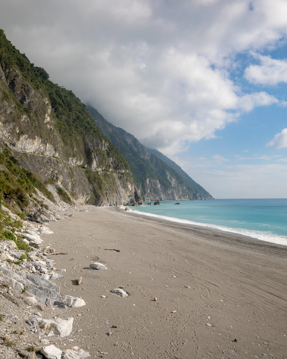 The Qingshui Cliffs near Taroko Gorge - Taiwan Itinerary